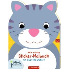 1 Malbuch Lutz Mauder 13084 Mini-Malbuch mit Stickern für Mädchen