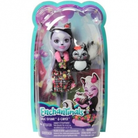 Mattel - Enchantimals Sage Skunk und Caper