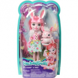 Mattel - Enchantimals Bree Bunny und Twist