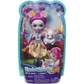 Mattel - Enchantimals Mayla Mouse und Fondue