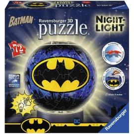 Ravensburger Puzzle - 3D Puzzle - Nachtlicht - Batman, 72 Teile