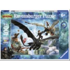 Ravensburger 109555 Puzzle Dragons: Die verborgene Welt 100 Teile XXL