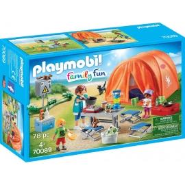 PLAYMOBIL 70089 - Family Fun - Familien-Camping