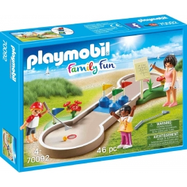 PLAYMOBIL 70092 - Family Fun - Minigolf