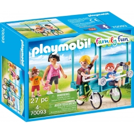 PLAYMOBIL 70093 - Family Fun - Familien-Fahrrad