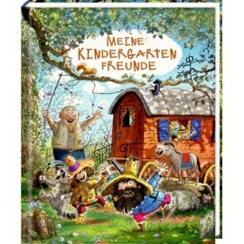 Freundebuch: Räuber Donnerpups - Meine Kindergartenfreunde