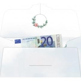 Kuvert f.Geld-/Gutscheingeschenk Wunscherfüller-Zur Hochzeit