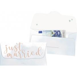 Kuvert f. Geld-/Gutscheingeschenk - Just married