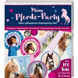 Aktivbuch: Meine Pferde-Party Pferdefreunde (Mottoparty-Set)