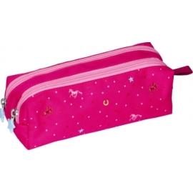Stifte-Etui Pferdefreunde (pink)