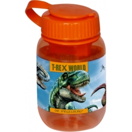 Doppelanspitzer T-Rex World (orange, mit Kappe)