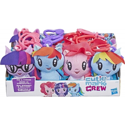 Hasbro - My Little Pony Cuties Plüsch Clips