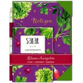 Kleine Auszeiten: Salat (Geschenkset)