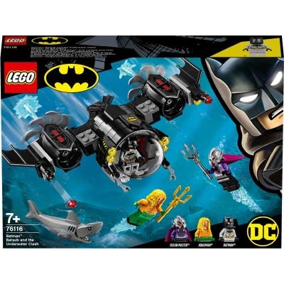 LEGO DC Comics Super Heroes 76117 - Batman Mech vs. Poison Ivy Mech