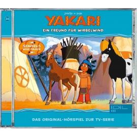 Edel:KIDS CD - Yakari, Folge 36 - Ein Freund für Wirbelwind