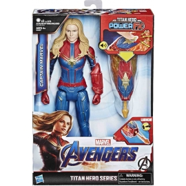 Hasbro - Avengers TH Power FX 2.0 Captain Marvel