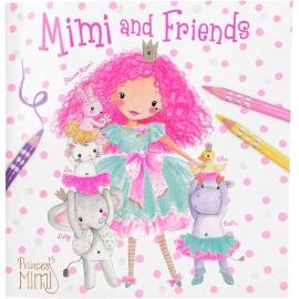 Depesche - Princess Mimi and Friends Malbuch