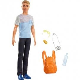 Mattel - Barbie Reise Ken Puppe