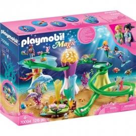 PLAYMOBIL 70094 - Magic - Korallenpavillon mit Leuchtkuppel