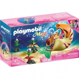 PLAYMOBIL 70098 - Magic - Meerjungfrau mit Schneckengondel