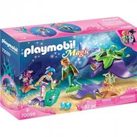 PLAYMOBIL 70099 - Magic - Perlensammler mit Rochen