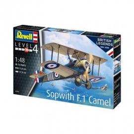 Revell - Model Set British Legends - Sopwith Camel