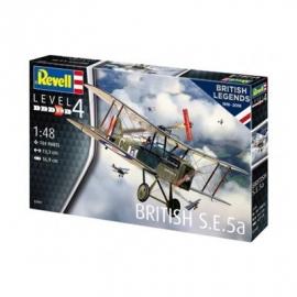 Revell - Model Set British Legends - S.E. 5a