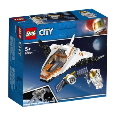 LEGO® City 60224 Satelliten-Wartungsmission, 84 Teile