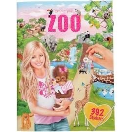 Depesche - Create your Zoo - Malbuch mit Stickern