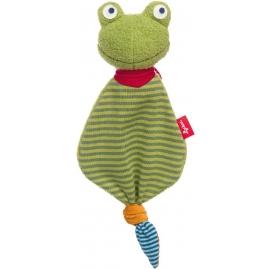 sigikid - Mini-Schnuffeltuch Flecken Frog