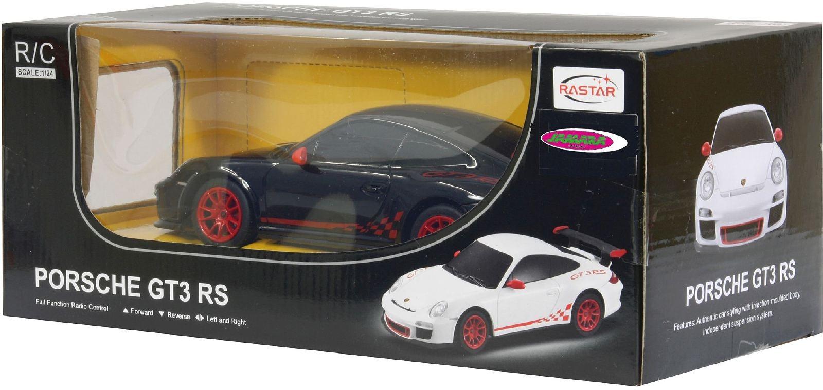 Porsche GT3 RS 1:24 schwarz 40MHz von Jamara