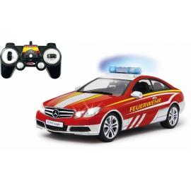 Jamara - Mercedes E350 Coupe 1:16 Feuerwehr weiß-rot 2,4GHz