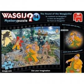 Jumbo Spiele - Wasgij Mystery 14 - Der Hund von Wasgijville! - 1000 Teile