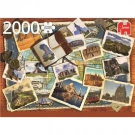 Jumbo Spiele - Wunder der Welt - 2000 Teile