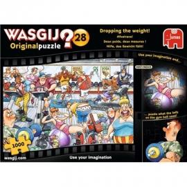 Jumbo Spiele - Wasgij Original 28 - Hilfe, das Gewicht fällt - 1000 Teile