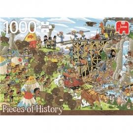 Jumbo Spiele - Der Wilde Westen - 1000 Teile