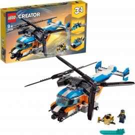 LEGO Creator - 31096 Doppelrotor-Hubschrauber