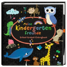 Meine Kindergartenfreunde - Kritzel-Kratzel-Eintragbuch