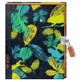 Top Secret - Tagebuch mit Zahlenschloss (Nature Zoom)