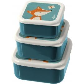 sigikid - Snackboxen 3er-Set Fuchs
