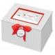 Aufbewahrungsbox BabyGlück - Willkommen, Baby! (grau)