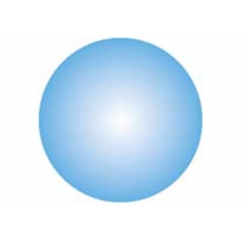 GoKi Clickhalbperle azurblau