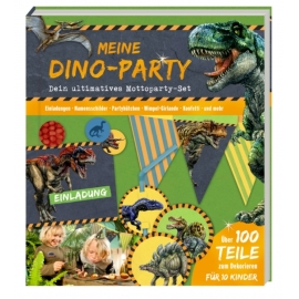 Aktivbuch Meine Dino-Party (Mottoparty-Set) T-Rex World