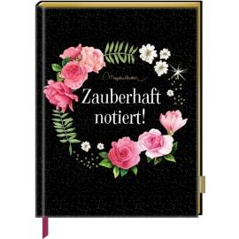 Notizbuch mit Glitzereinband - Zauberhaft notiert! (Bastin)