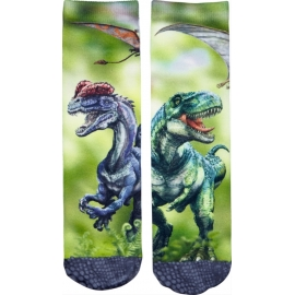 Socken T-Rex World, one size (Gr. 26-36)