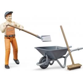 Figurenset Kommunalarbeiter