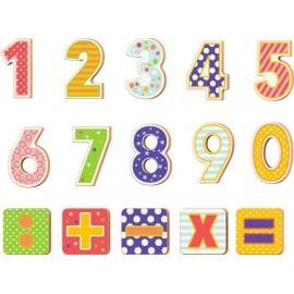 Magnet-Zahlen Die Lieben Sieben