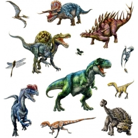 Sticker T-Rex World