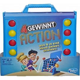 Hasbro - 4 gewinnt Action