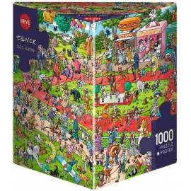 Heye - Triangularpuzzle - Dog Show 1000 Teile